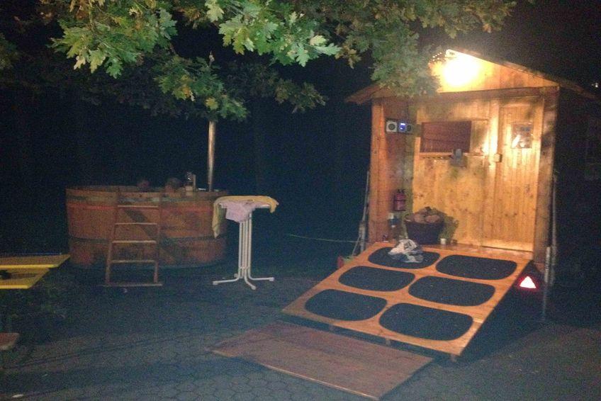 Saunaabend beim SCO