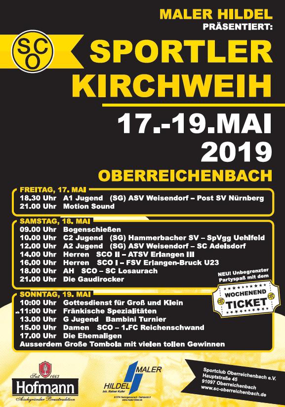 Sportlerkirchweih 2019