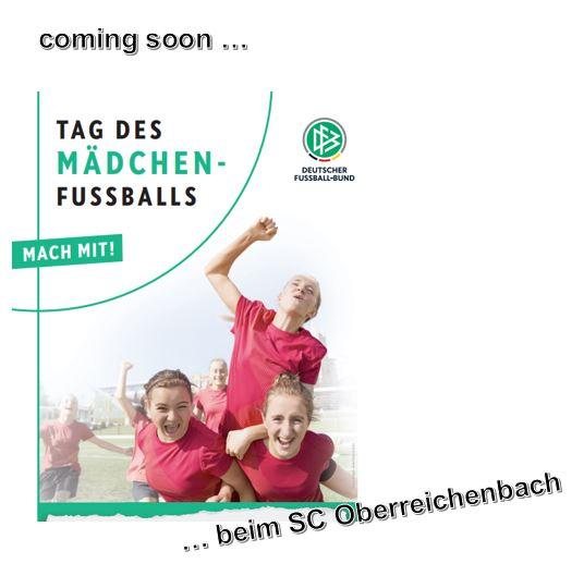 Tag des Mädchenfussballs Ende September