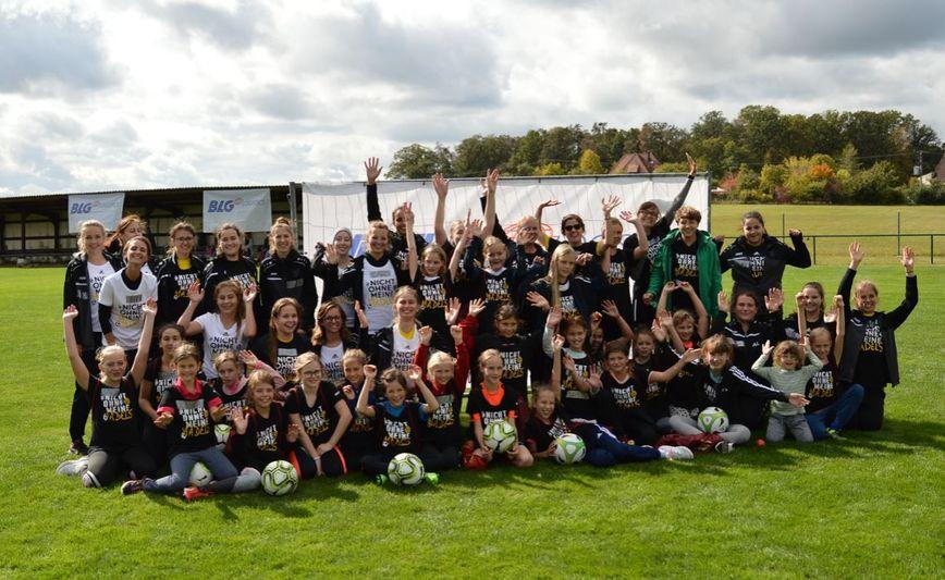 """""""Tag des Mädchenfussballs"""" ein voller Erfolg"""