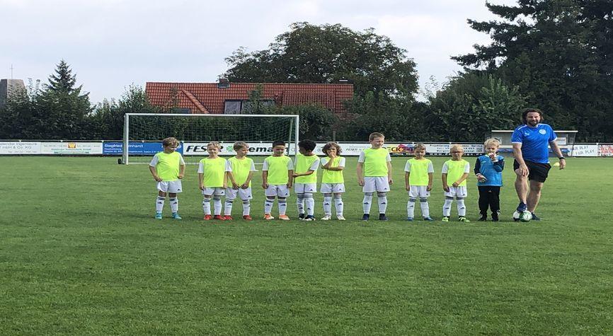 Torspektakel der F-Jugend zum Saisonauftakt - 32:0